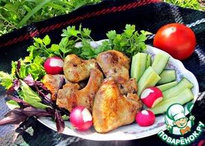 Рецепт Куриные крылышки-гриль