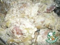 Печень со сметаной - кулинарный рецепт