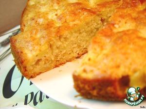Рецепт Будничный медово-яблочный пирог