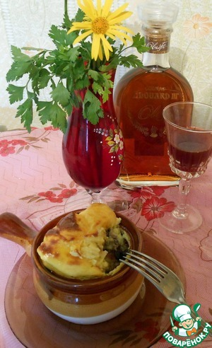 Рецепт Крестьянское блюдо в барской подаче
