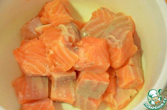 Рецепт из лосося рецепт пошагово в