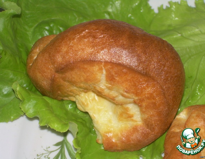 Рецепт: Блинные  булочки
