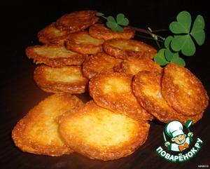 Рецепт Сырное хрустящее печенье