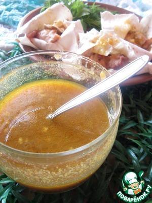 Рецепт Яблочно-изюмный соус
