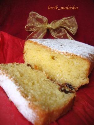 Рецепт Творожный кекс (почти по ГОСТу)