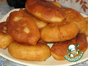 Рецепт Пирожки на заварном дрожжевом тесте