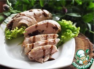 Рецепт Куриное филе с пикантной начинкой, запечённое в фольге