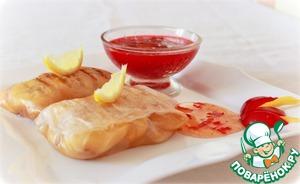 Рецепт Десертные спринг роллы со сливовым соусом