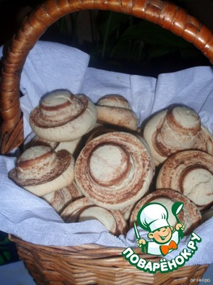 Рецепт Печенье шампиньоны