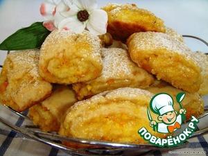 апельсиновое песочное печенье рецепт