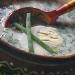 Холодный суп с щавелем