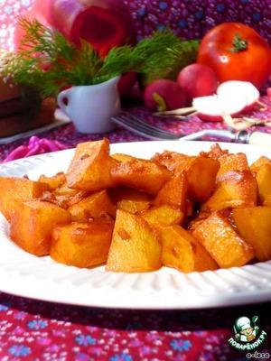 """Рецепт Гуляш из картофеля """"goulash on poor"""""""