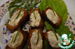Рецепт Сельдь Киевская в хлебных корзинках