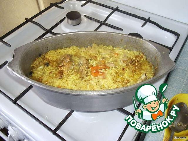Как готовить Плов из курицы простой пошаговый рецепт с фотографиями #4