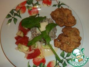 Рецепт Биточки из филе пангасиуса