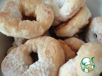 Пончики обыкновенные и мое универсальное дрожжевое тесто ингредиенты