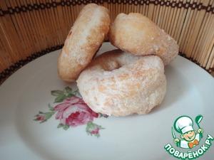 Рецепт Пончики обыкновенные и мое универсальное дрожжевое тесто