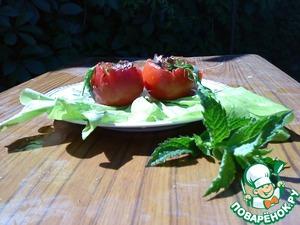 Фаршированные помидоры простой пошаговый рецепт приготовления с фото