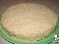 """Торт """"Зимняя сказка"""" ингредиенты"""