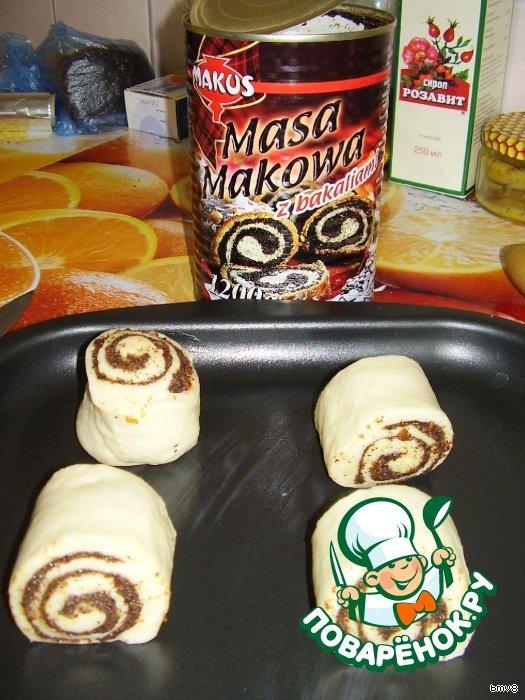 рецепт приготовления булочек с маком пошагово с фото