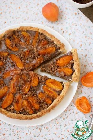 Рецепт Летний пирог из абрикосов с фланом