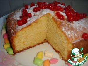 "Рецепт Английский пирог ""Фунт"""