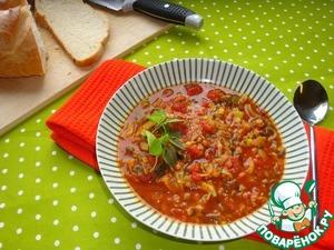 Рецепт Суп из красной чечевицы с карри