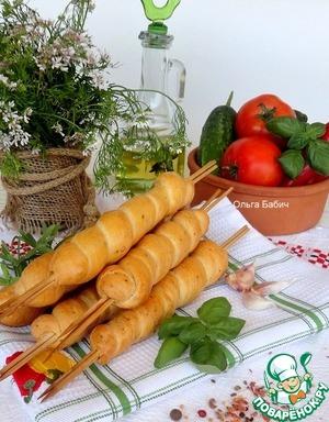 "Рецепт ""Охотничий"" хлеб"
