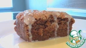 Рецепт Ореховый пудинг под ванильным соусом