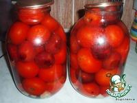Маринованные помидоры со сливами ингредиенты