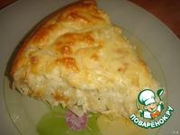 """Пирог """"Ленивая капустница"""" ингредиенты"""