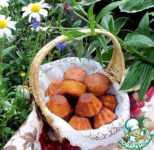 Рецепт Маффины из рикотты с шоколадной начинкой