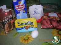 """Шоколадная колбаска """"Сосед"""" ингредиенты"""