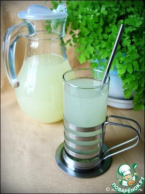Рецепт Лимонно-имбирный лимонад