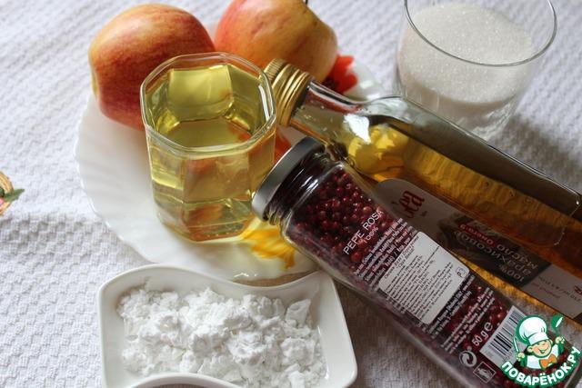 Дольки яблок в карамели рецепт в домашних условиях 393
