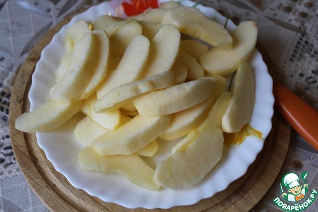 Дольки яблок в карамели рецепт в домашних условиях 66