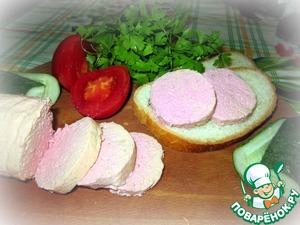 Рецепт Детская вареная колбаса