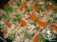 Вегетарианский овощной суп с грибами ингредиенты