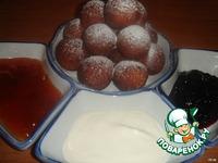 Творожные шарики ингредиенты