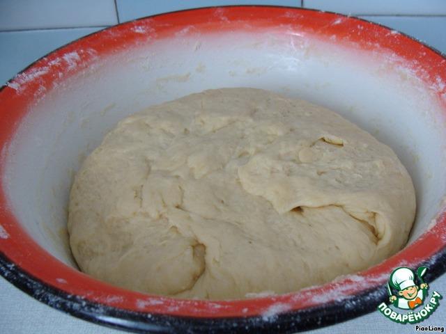 тесто на кокроки с капустой