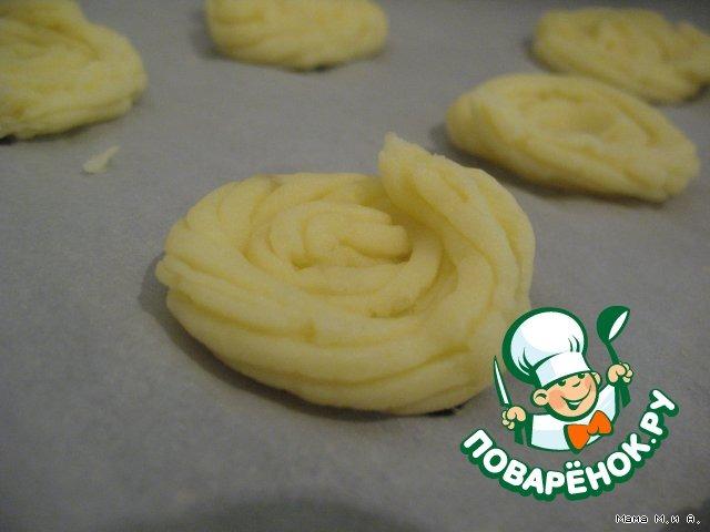 """Готовим простой рецепт приготовления с фотографиями Картофельные """"корзиночки"""" с лососевым муссом #1"""