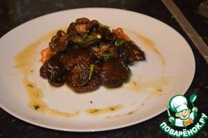 Рецепт Салат из сухих грибов