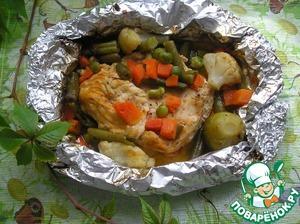 Рецепт Куриные грудки в фольге
