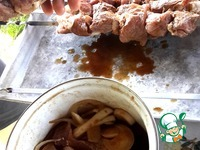 Шашлык в соевом соусе ингредиенты