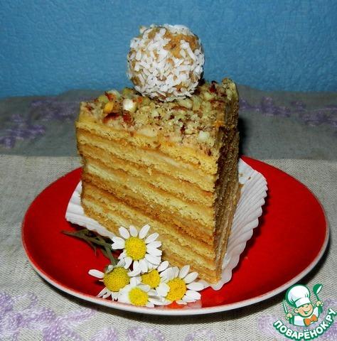 Пизанская башня торт