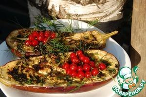 Рецепт Баклажаны гриль
