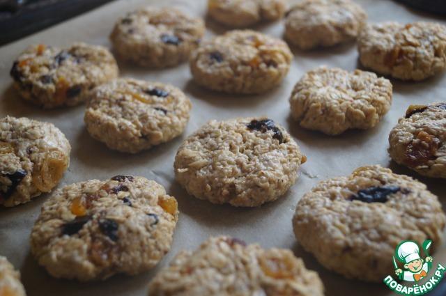 овсяное печенье с рецепт с фото