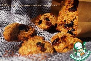 Рецепт Овсяное диетическое печенье