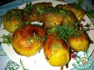 Рецепт Жареный молодой картофель со свининой