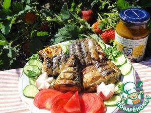 Рецепт Самая вкусная скумбрия на гриле под маринадом от Blue Dragon